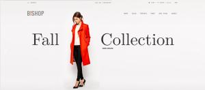 Υπόδειγμα κεντρικής σελίδας wordpress Eshop Fashion