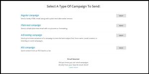 Τύποι Καμπάνιας MailChimp