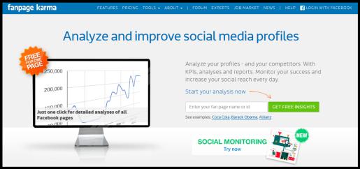 3 δωρεάν εργαλεία για σύγκριση και ανάλυση των ανταγωνιστών σας στα Social Media