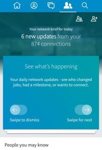 Η νέα mobile εφαρμογή του Linkedin είναι ήδη στα Smartphone !