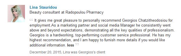 Linkedin Reccomendation