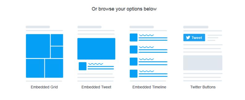 Επιλέξτε την τελευταία προς τα δεξιά επιλογή για το Twitter Message
