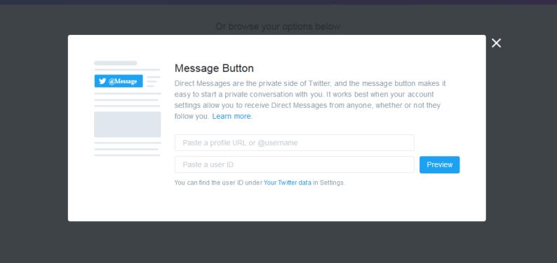 Το Twitter σας προσφέρει 4 επιλογές για να δημιουργήσετε κώδικα