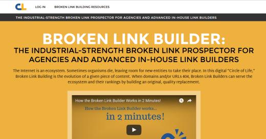 Broken Link Building SEO στρατηγική
