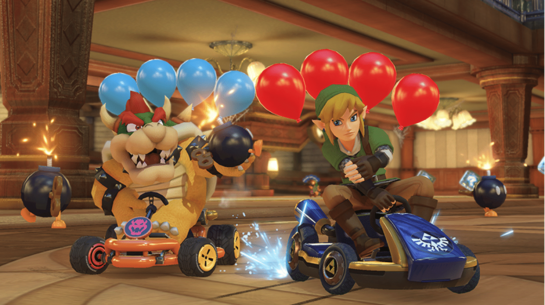 Mario Kart Deluxe 8 Battle