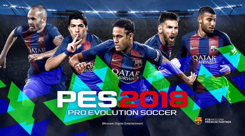 Pro Evolution 2018 – Κυκλοφορεί για PS4, PS3, Xbox One, 360, PC